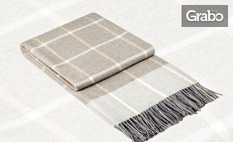 """Одеяло """"Онтарио"""" с модерен дизайн и цвят по избор"""