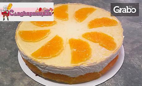 Цяла торта по избор - Шоколадов спомен или Портокалова магия