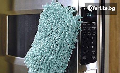 Перфектна домакиня! 10 абсорбиращи кърпи и 3 микрофибърни ръкавици