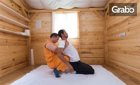Висцерален масаж на корем, или юмейхо, шиацу, китайски или спортен масаж на цяло тяло, плюс бонус - електростимулация