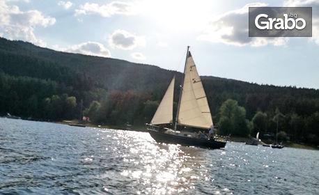 2 часа разходка с яхта по язовир Искър