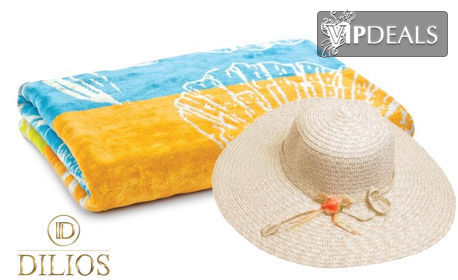 Плажна кърпа от 100% памук - модел по избор