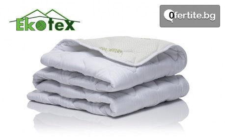 Олекотена завивка Sleepmode Aloe Vera - подходяща за всички сезони