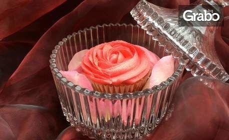 Вкусно и красиво изкушение! Къпкейк във формата на роза - 1, 3 или 7 броя