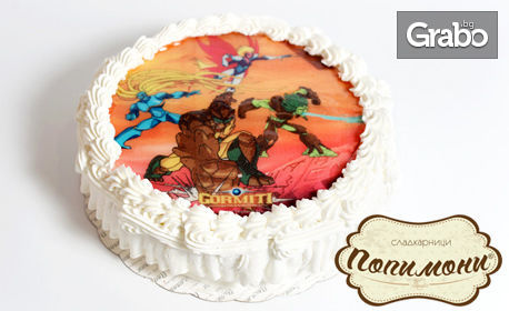 Детска торта по избор с любим герой