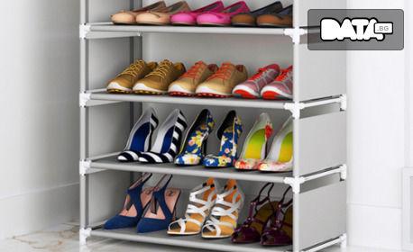 Етажерка за обувки с 6 рафта