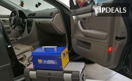 Пречистване на въздуха в лек автомобил с озонатор M-MX4000