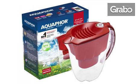 Кана за филтриране на вода Ametist Aquaphor, плюс 1 или 3 филтъра
