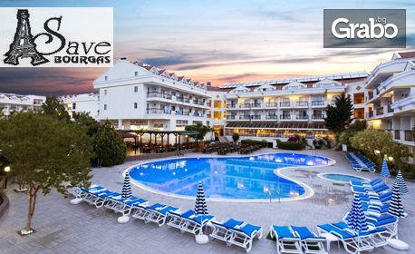 Късно лято в Мармарис! 5 нощувки на база All Inclusive в хотел Pineta Club***, плюс транспорт,