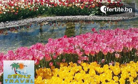 Април до Истанбул! 2 нощувки със закуски, транспорт, посещение на Одрин и Люлебургас и възможност за Фестивала на лалето