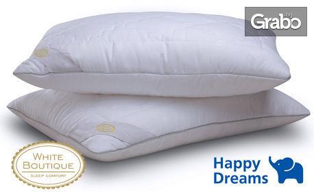 Възглавница White Boutique Two Seasons за здрав и спокоен сън