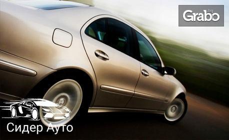 Тест за изгорели газове в охладителната система на автомобила
