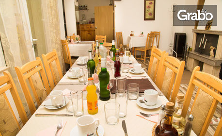 Почивка в Тетевен! 2 или 3 нощувки със закуски и вечери, плюс възможност за обяд