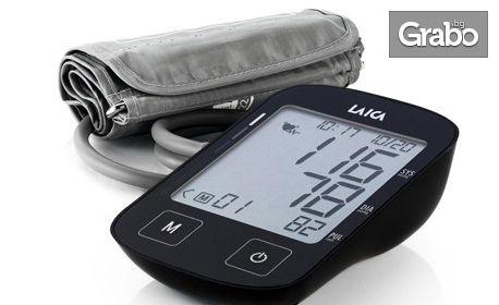 Апарат за кръвно налягане Laica BM2604 с Маншет Laica М или Маншет Laica L, плюс безплатна доставка