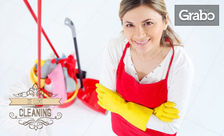 Професионално почистване на дом или офис до 100кв.м - без или със почистване на прозорци