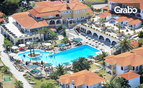 През Май и Юни на Халкидики! 3, 4 или 5 нощувки на база All Inclusivе, от Aristoteles Beach Hotel, Афитос