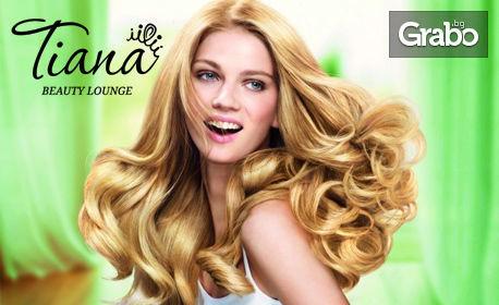 Подстригване на коса боядисване, кичури, омбре или балеаж, терапия по избор или официална прическа