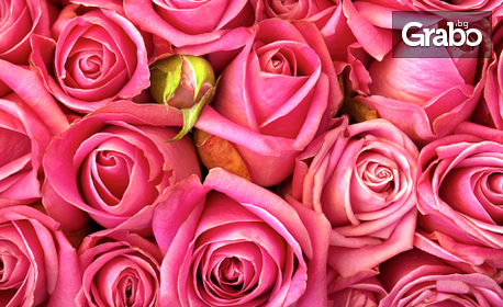 """Ръчно изработена ароматна свещ """"Роза"""" на Seven Roses - 3, 4 или 5 броя"""