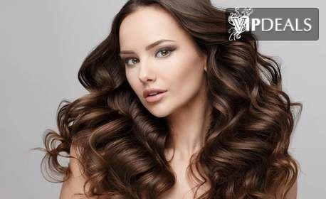 Масажно измиване на коса, маска, възстановяваща терапия, подстригване и оформяне