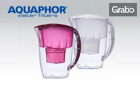 Филтрираща кана Джаспър с филтър В25 Mg+, или комплект филтри по избор