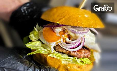 Свински бургер