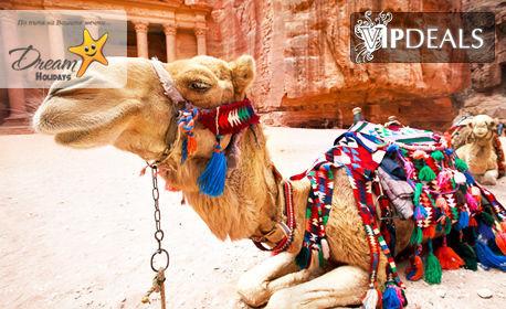 Екскурзия до Йордания през Януари, Февруари или Март! 4 нощувки със закуски и вечери в хотели 3 или 4*, плюс транспорт