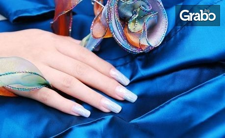 Маникюр с лак, гел лак или поставяне на гел върху естествен нокът