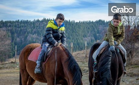 2 часа преход с кон из Родопите и заснемане с екшън камера