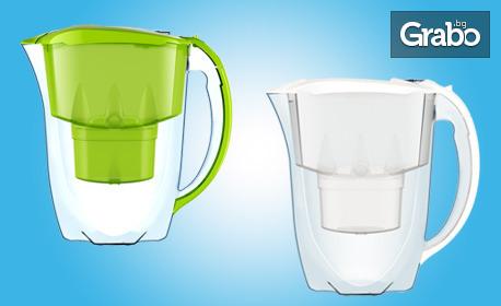 Кана за пречистване на питейна вода с филтър - модел по избор