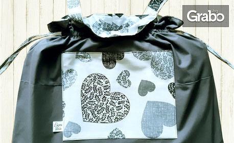 Спален комплект Invite Love в екоторбичка - в размер и цвят по избор, с безплатна доставка