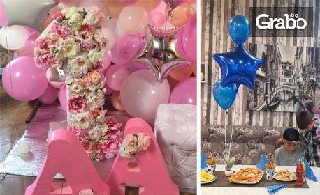 7b4181ff316 Украса за детско парти - с бебешка погача или за рожден ден, от Сватбена  агенция Феите