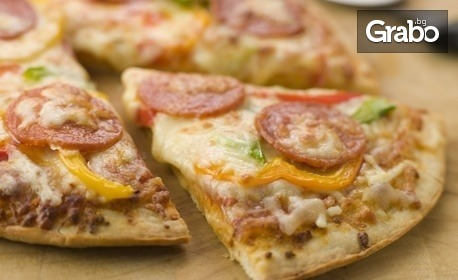 Хрупкава пица Верде