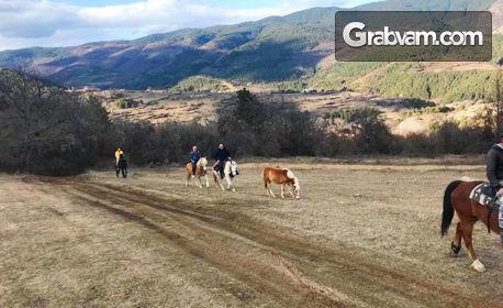 2 часа планинска езда за начинаещи и напреднали с квалифициран водач край с. Хвойна