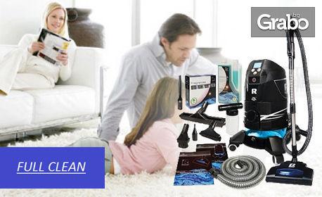 Безпрашно тупане и изпиране с Robot Platinum - на 1 седящо място мека мебел, килим до 10кв.м или на единичен матрак