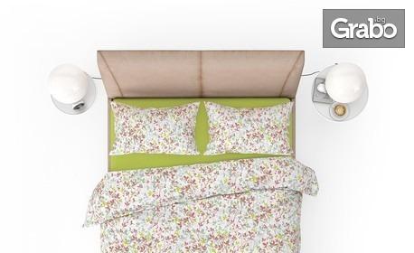 """Единичен или двоен спален комплект от ранфорс """"Клер"""""""