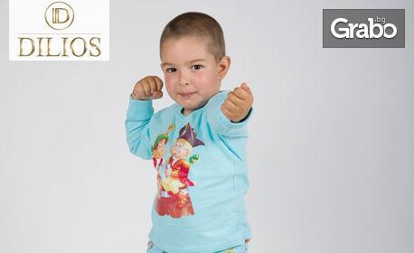 """Детска пижама за момче """"Пирати"""" от 100% памук"""