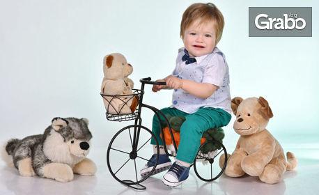 Детска фотосесия в студио с 25 обработени кадъра