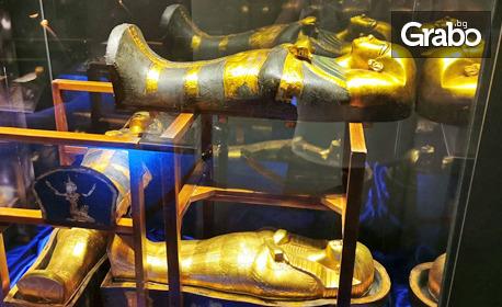 """Вход за експозицията """"Тутанхамун - една недовършена любовна история"""" със 120 артефакти и 10-минутен филм"""