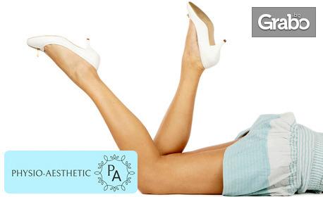 Рефлекторен депресомасаж на крака със Skinexians и Roboderm стимулация с Icoone - при отичане и венозна недостатъчност