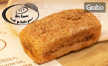 2 натурални хляба с жива закваска, по избор