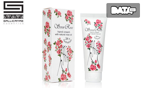 Грижа за лице, коса и тяло с натурална козметика Seven Roses! Подаръчна кутия с 3 или 7 продукта