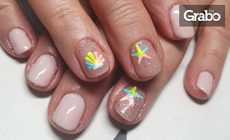 Маникюр с гел лак и декорации, или поставяне на гел върху естествен нокът и гел лак