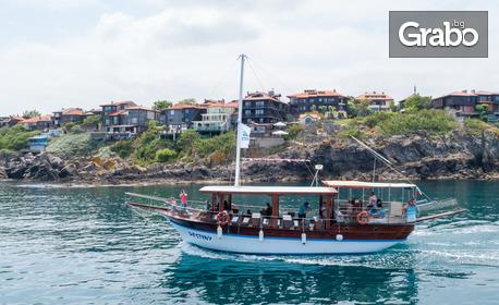 Едночасова панорамна разходка около островите Свети Иван, Свети Петър, Созопол и мидените плантации