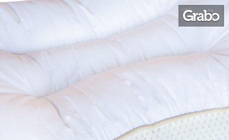 Детска анатомична възглавница Kiddy Cotton, с безплатна доставка