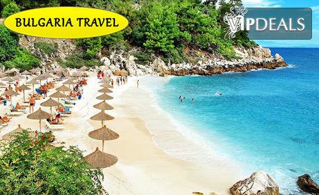 Посети красивия остров Тасос! 5 нощувки със закуски и вечери, плюс транспорт
