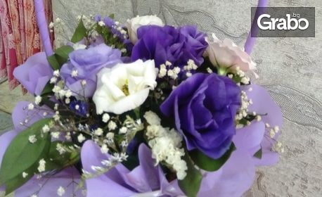Цветя за Първия учебен ден! Букет или кошничка