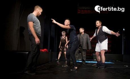 """Носителката на Икар Весела Бабинова в """"Пияните"""" на 10 Октомври"""