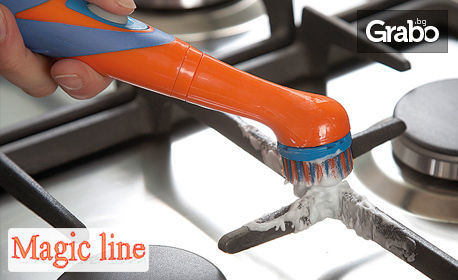 Идеално чист дом със Sonic Clener - вибрираща система за почистване 4в1