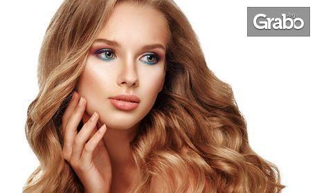 За свежа и здрава коса! Подсилваща или кератинова терапия - без или със подстригване