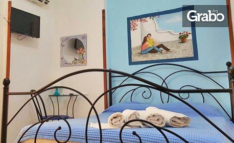 През Юли на гръцкия остров Амулиани! 2 или 3 нощувки със закуски за до четирима